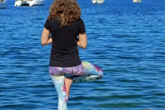 Yoga Baum Hannah