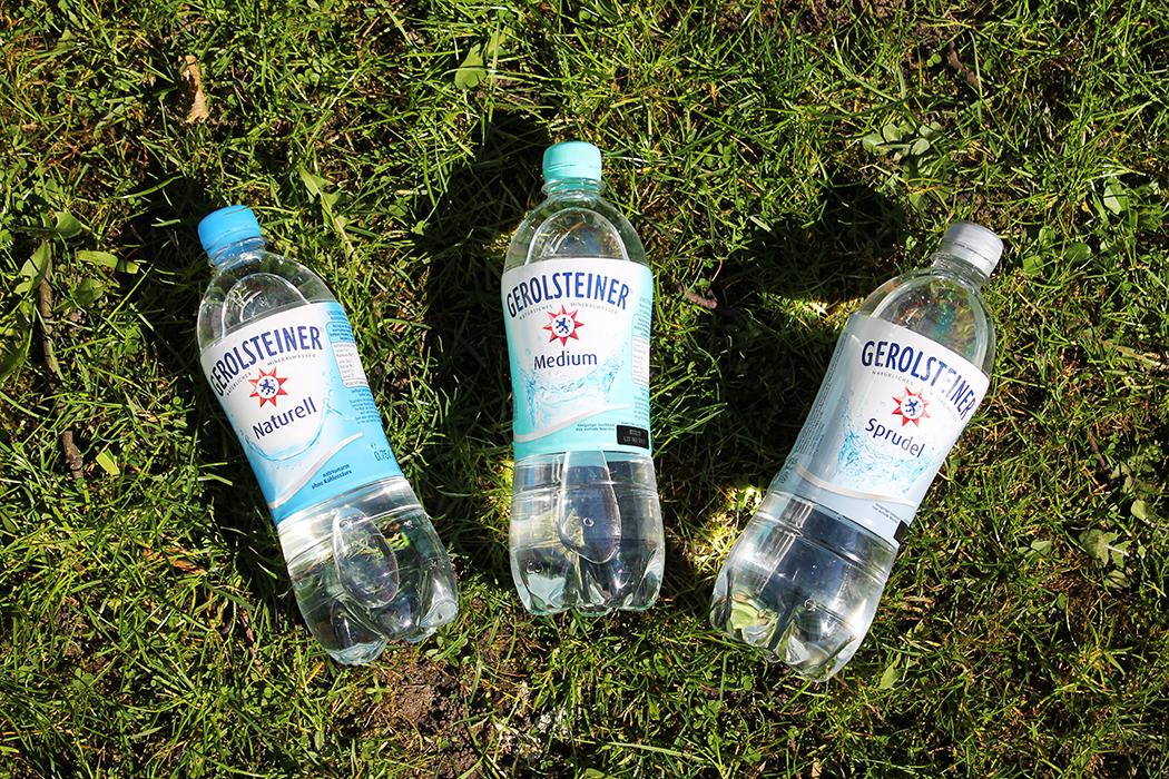 Gerolsteiner Projekt Wasserwoche Flaschen
