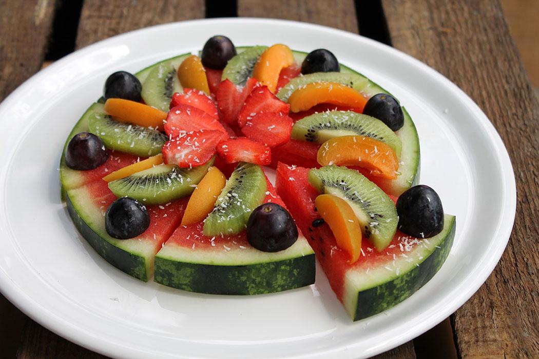 Wassermelonen-Pizza1