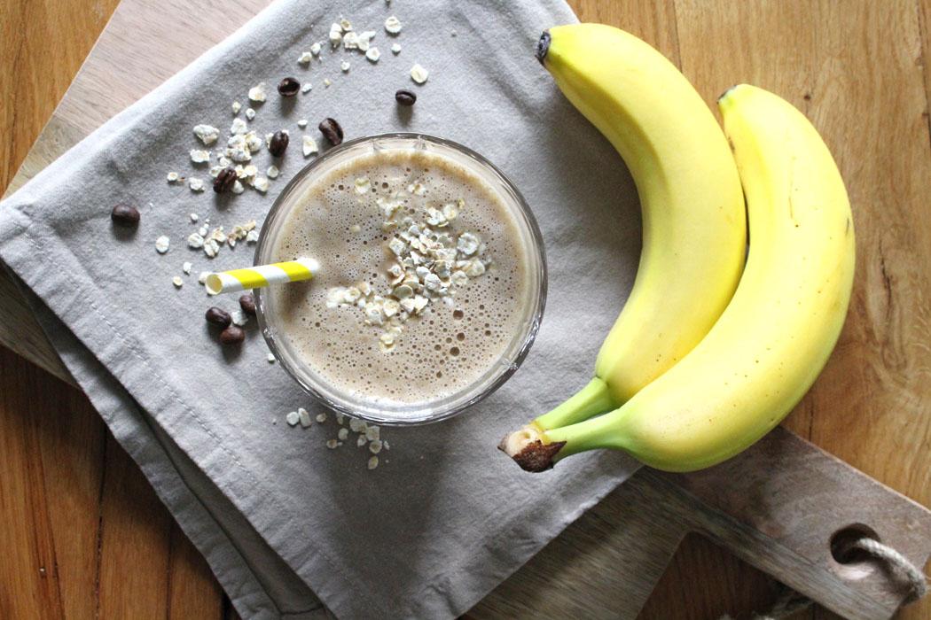 rezept kaffee bananen smoothie projekt gesund leben clean eating fitness entspannung. Black Bedroom Furniture Sets. Home Design Ideas