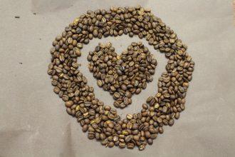 Kaffee-Herz