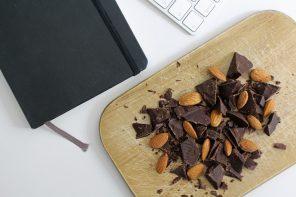Kalifornische Mandeln Schokolade