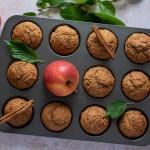 Grundrezept für fruchtige Vollkornmuffins