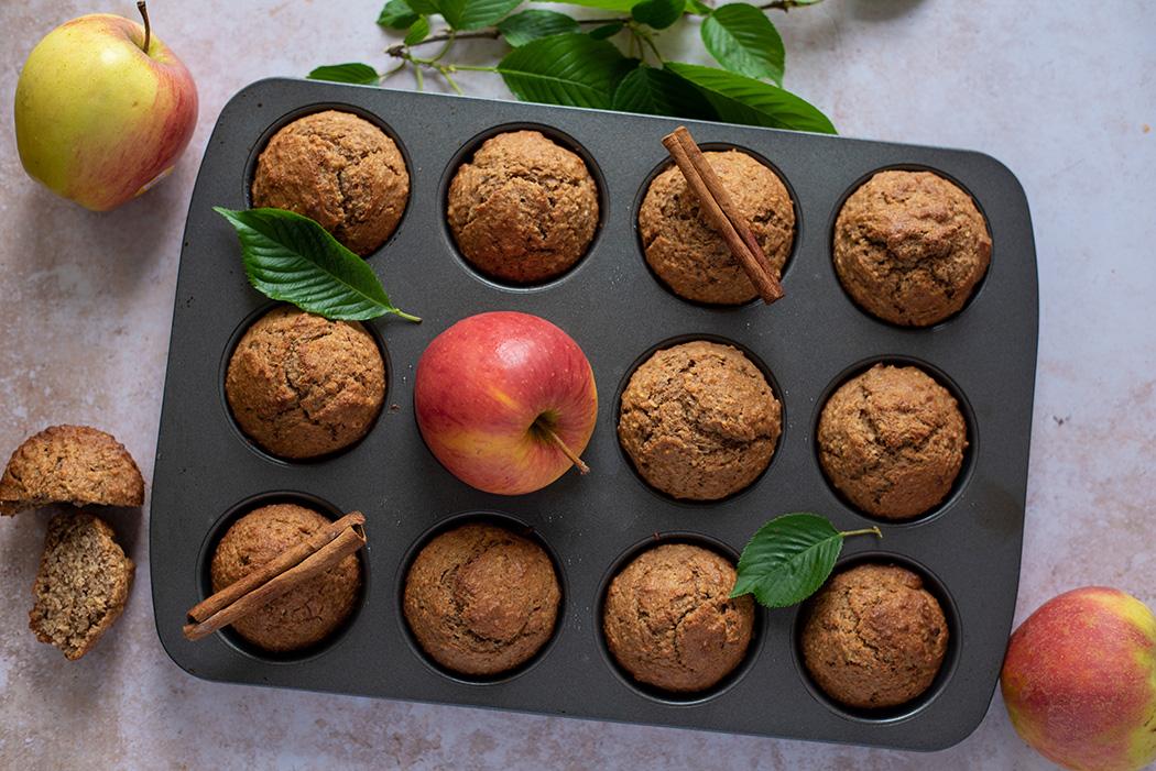 Grundrezept für fruchtige Vollkorn Muffins02