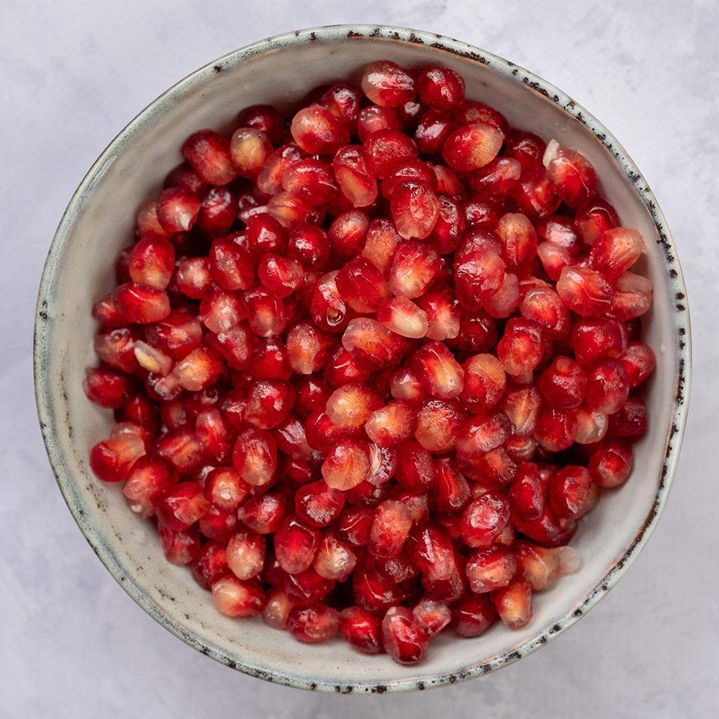 Granatapfel entkernen Schritt 4