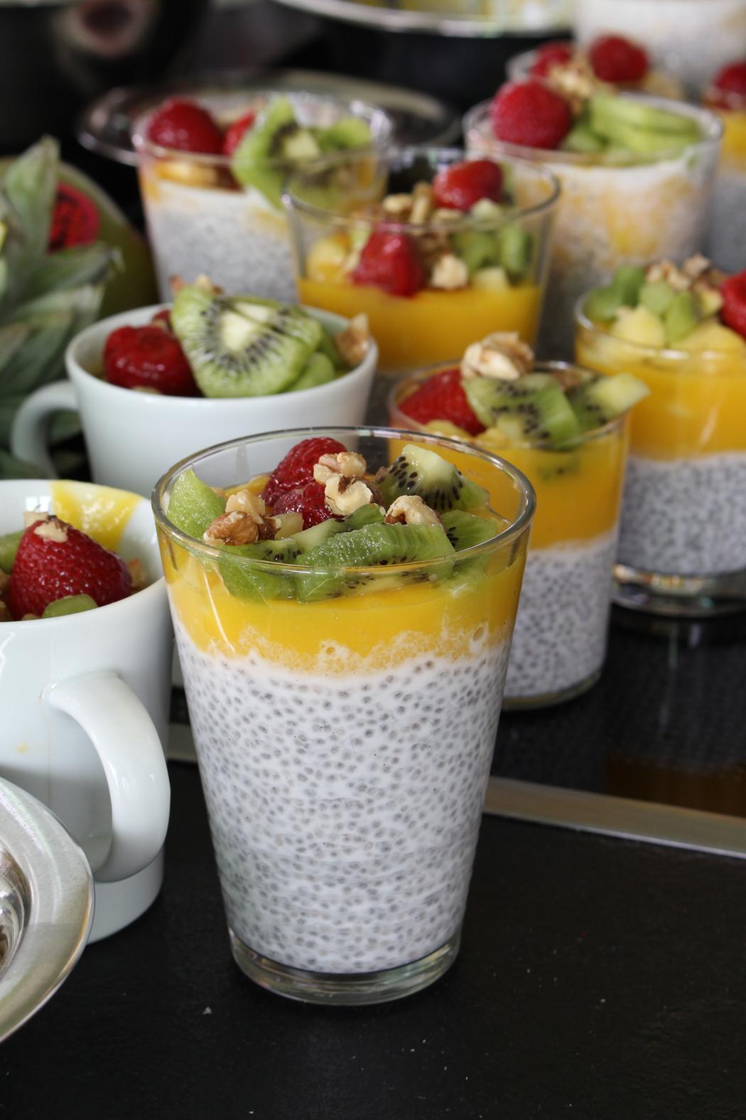 Chia-Pudding mit Mangosauce2