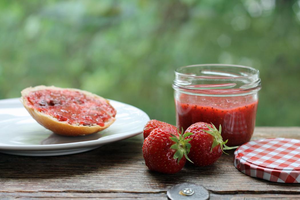 Chia Erdbeer Marmelade2
