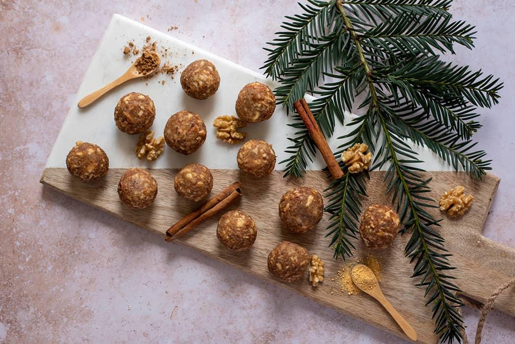 Gesunde Snacks weihnachtliche Energy Balls02