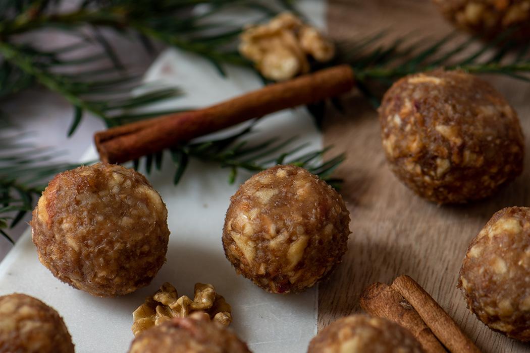 Gesunde Snacks weihnachtliche Energy Balls04