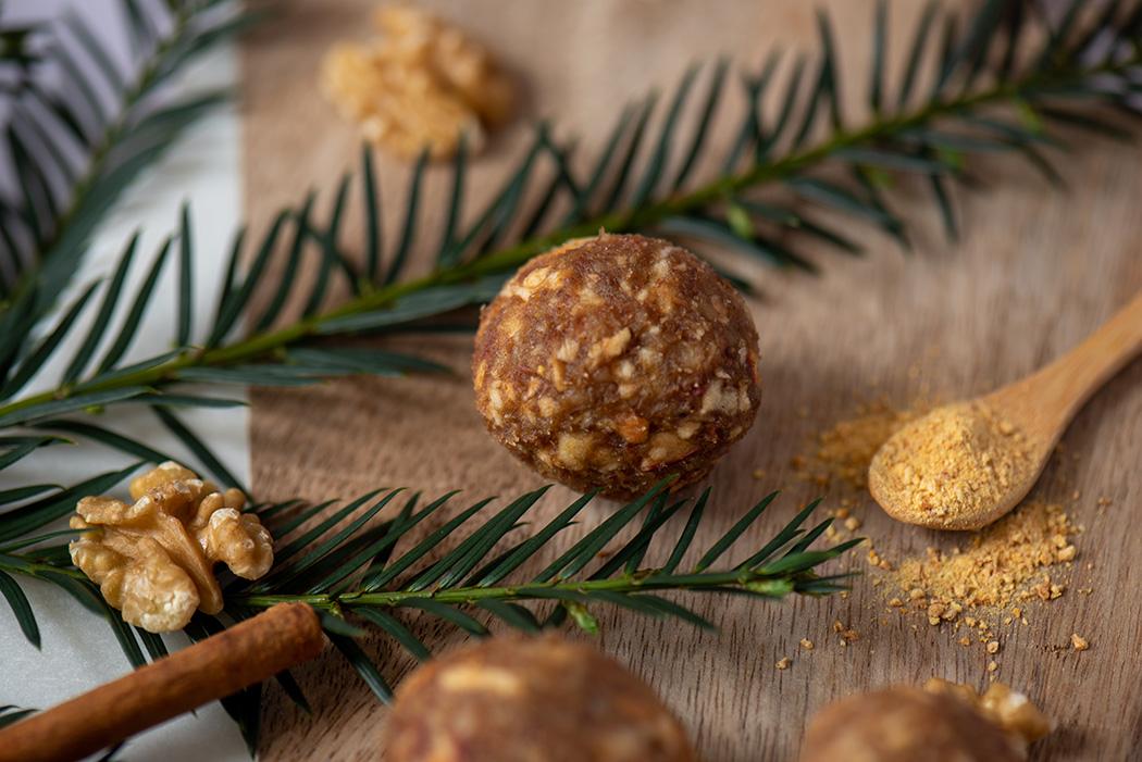 Gesunde Snacks weihnachtliche Energy Balls05