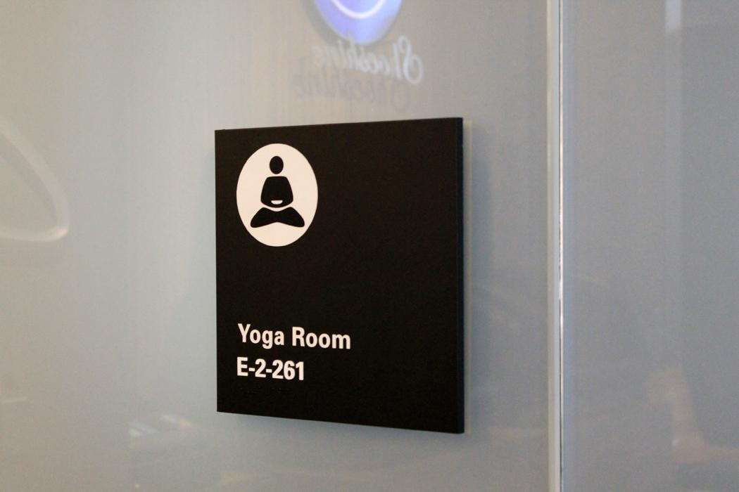 Yoga Romm SFO Airport1
