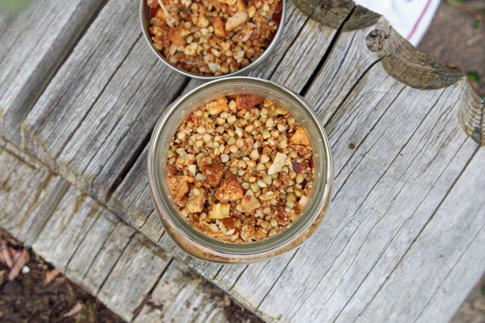 Buchweizen Granola Apfel-Zimt2