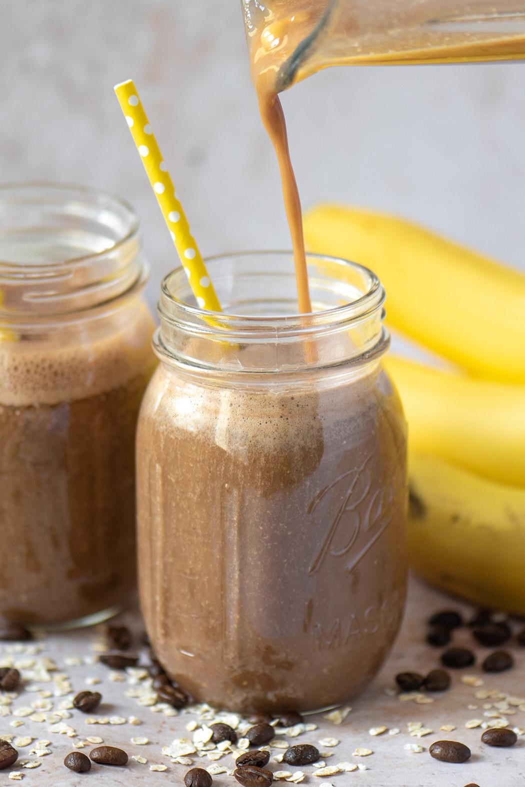 Kaffee Bananen Smoothie05