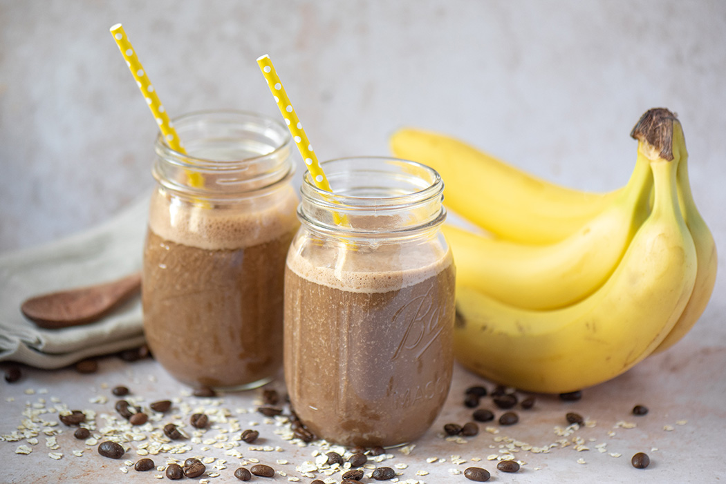 Kaffee Bananen Smoothie06