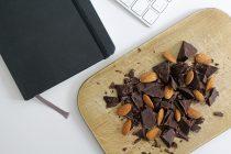 Mandeln als Snack in Kombination mit Schokolade + Gewinnspiel