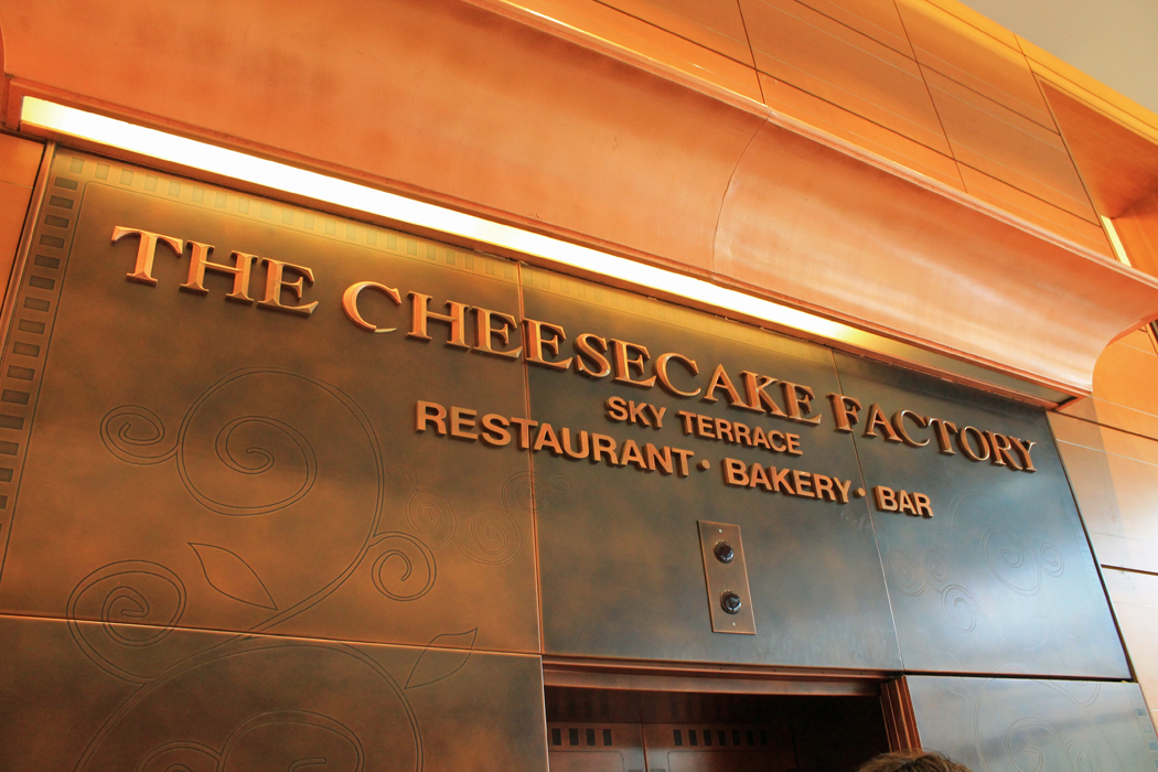 San Francisco Cheesecake Factory 1