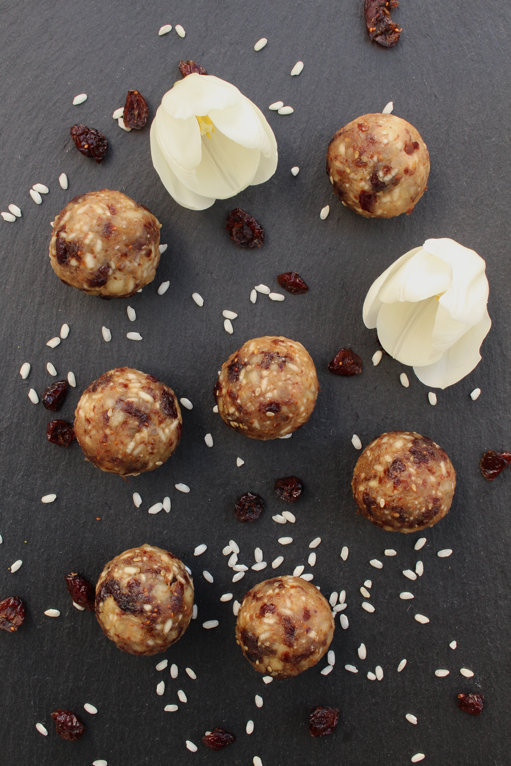 macadamia cranberry balls mit reis01 projekt gesund. Black Bedroom Furniture Sets. Home Design Ideas