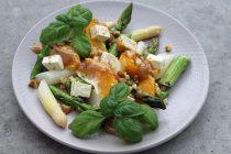 Recipe: Asparagus Orange Feta Salad with Date Balsamic Vinegar