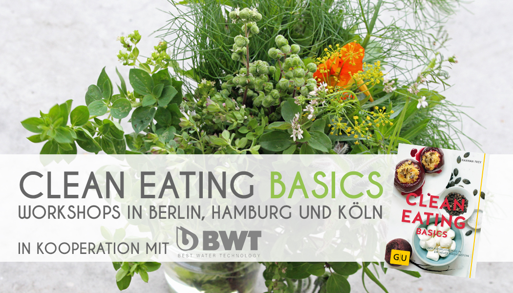 Clean Eating Basics Banner Blog