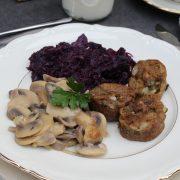 CLEAN EATING-Weihnachtsmenü - Hauptgericht Teil 2: Pilzgeschnetzeltes
