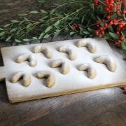 Recipe: Vanilla Kipferl (German Crescent Cookies) Without Refined Sugar