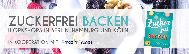 Zuckerfrei backen Banner Slideshow Blog