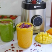 Drink the rainbow - 3 leckere Smoothies mit dem neuen Philips Standmixer