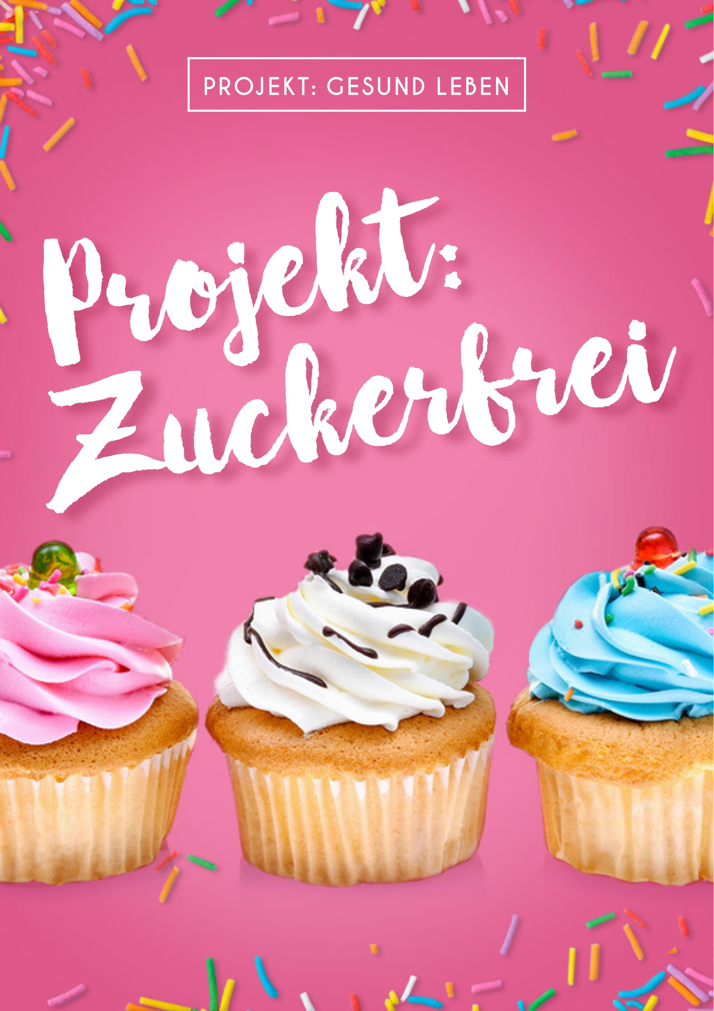 E Book Projekt Zuckerfrei Cover