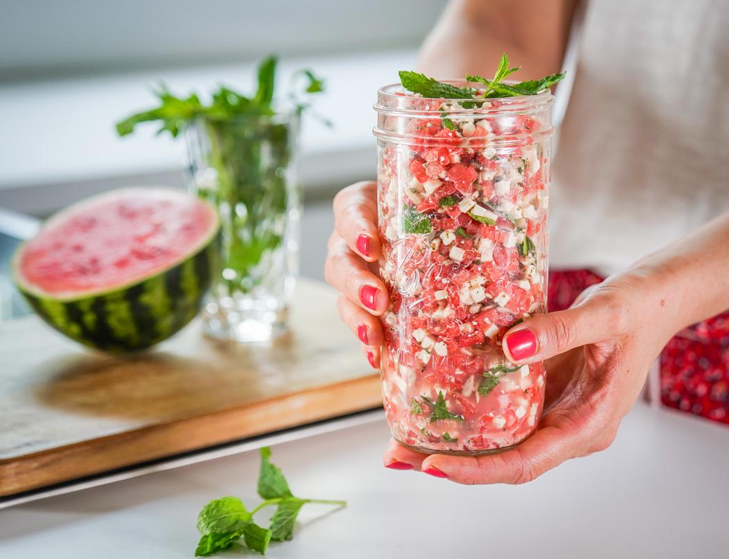 Wassermelonen Feta Salat03