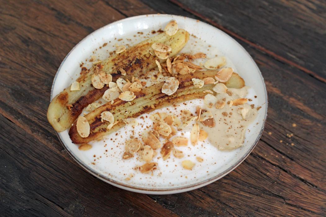 Porridge mit gebratener Banane02