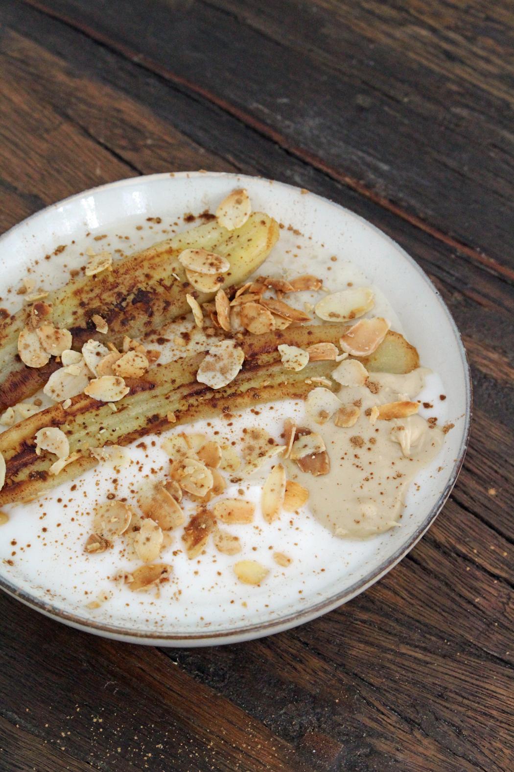 Porridge mit gebratener Banane03
