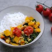 """Community-Rezept meiner """"Zuckerfrei"""" Facebook-Gruppe: One-Pot-Kürbis-Curry"""