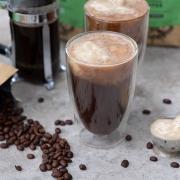 Rezept: Nicecream-Eiskaffee mit dem neuen BIO KAFFEE von Tchibo