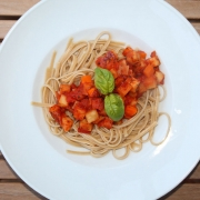 Recipe: Vegan Celeriac Carrot Bolognese