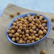 Clean Eating Snack: Roasted Chickpeas