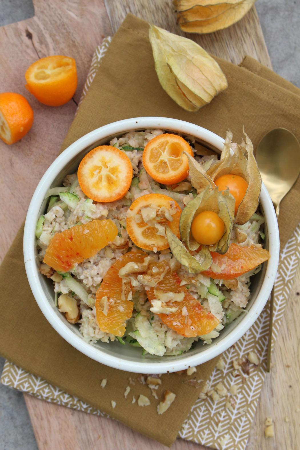 Grundrezept Zoats Zucchini Porridge03