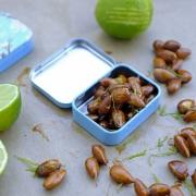 Mandeln als gesunder Reisesnack + Rezept