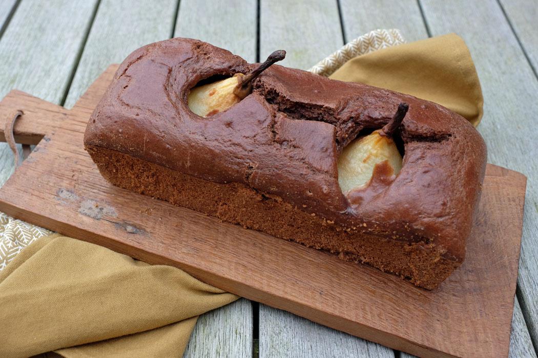 Schoko Birnen Kuchen01