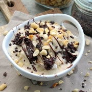 Rezept: Schoko-Erdnuss Nicecream