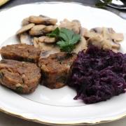 CLEAN EATING-Weihnachtsmenü - Hauptgericht Teil 3: Serviettenknödel
