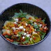 Rezept: Orientalische Hirsepfanne - Schnelles Meal-Prep-Gericht (nur 30 Minuten!)