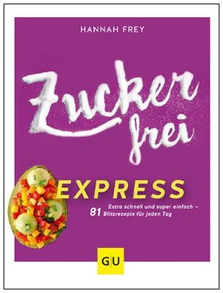 Cover Zuckerfrei Express 400px hoch mit Rahmen