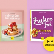 """Gewinnspiel """"Zuckerfrei express"""" und """"Frühstück zuckerfrei"""""""