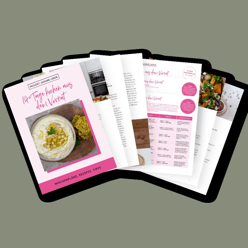 14 Tage kochen aus dem Vorrat E Book Freisteller 1