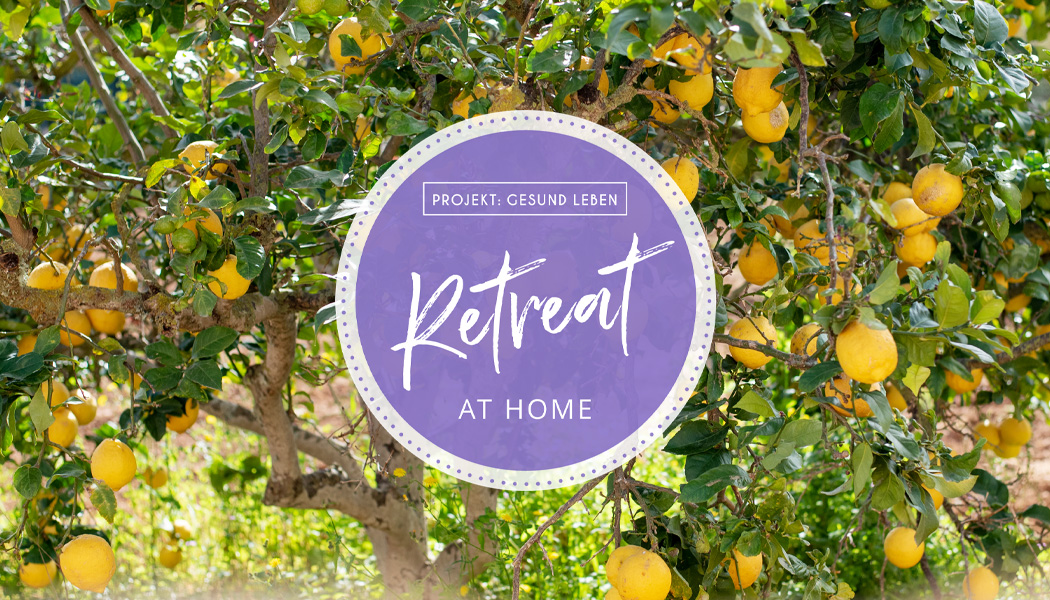 Retreat at home Banner Blog