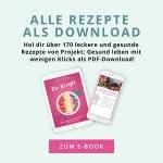 NEU: E-Book mit über 170 gesunden Rezepten für jeden Tag