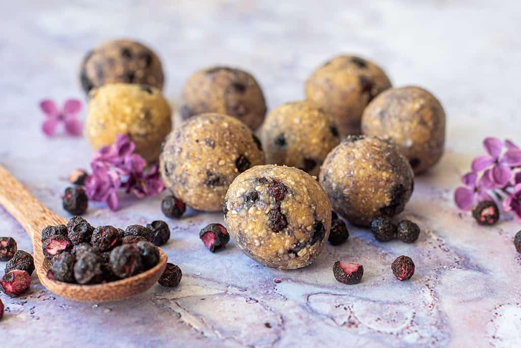 Energy Balls Blaubeer Muffin05