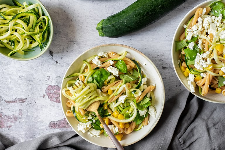 Zucchini Feta Nudelsalat03