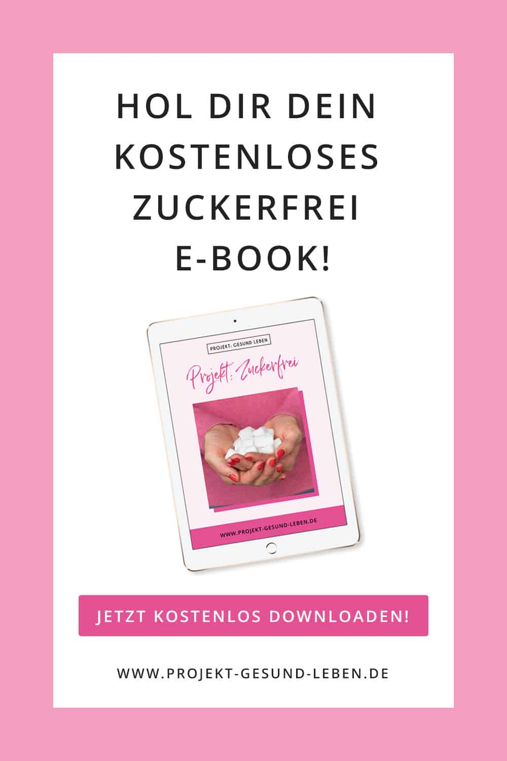 Banner Zuckerfrei E Book