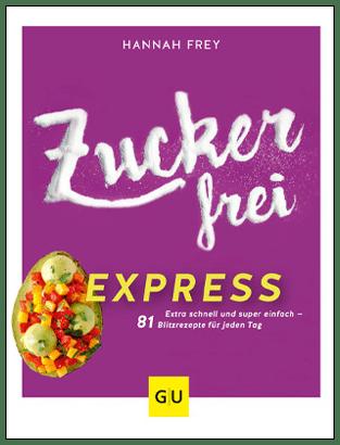 Cover Zuckerfrei Express - 400px-hoch - mit Rahmen